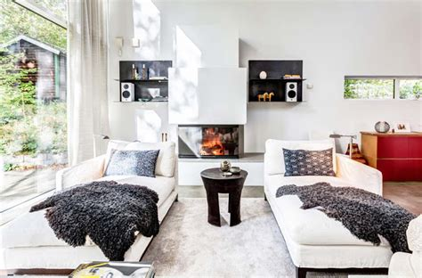 all white living room living rooms pinterest noir blanc un style