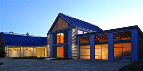 modern metal pole building homes modern house modern barn house showcases efficiency daylight and the