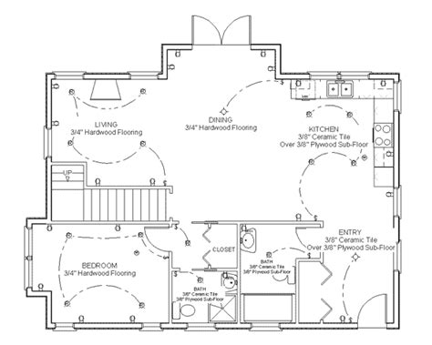 Kitchen Design Floor Plans by Make Your Own Blueprint How To Draw Floor Plans