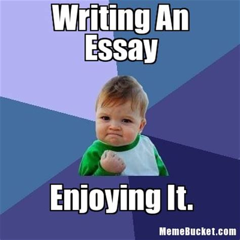 Essay Memes - ms bellon s classroom the daily rant