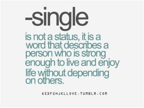 Single Is Happy single happy quote quotesta
