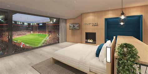 marriott built a hotel suite inside a football stadium