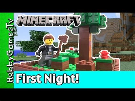 minecraft trixie first night game play xbox hobbykids by