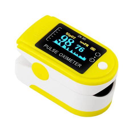 Pulse Oximeter Spo2 Rate jual livotech pulse oximeter spo2 rate kuning