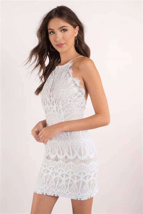 white dress lace dress romantic white dress bodycon
