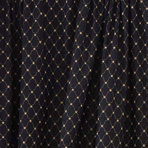 black pattern valance black and tan lined valance carrington pattern by park