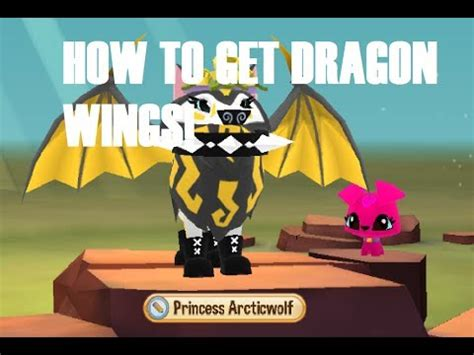dragon wings  animal jam play wild youtube