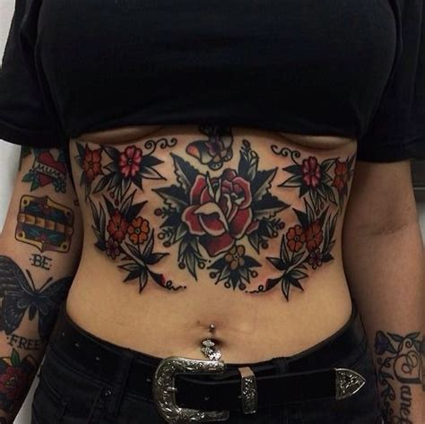 sexy stomach tattoos 25 best stomach tattoos trending ideas on