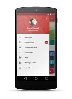 design menu in android 1000 images about material design on pinterest material