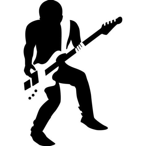 Rock Guitarist Wall Sticker Guitar Music Wall Decal Kids