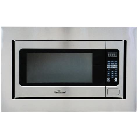 thor kitchen 2 2 cu ft built in microwave in stainless