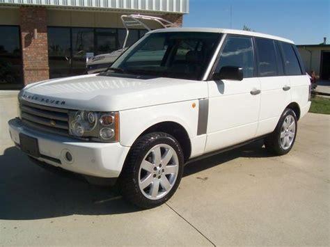 2003 white range rover 2003 range rover white loaded 62 000 ls1tech