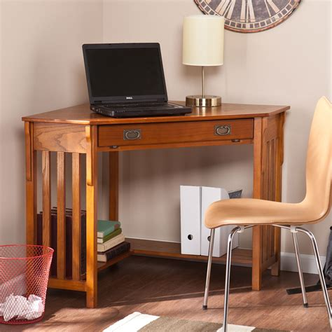 oak corner computer desks for home 967ho6641