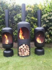 Chiminea Logs Gas Bottle Wood Burner Log Burner Chiminea Patio Heater