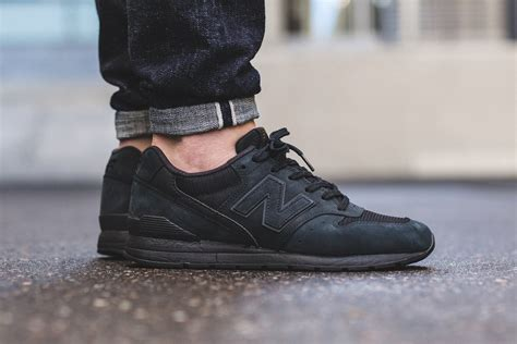 New Balance Black new balance mrl996kp black sneaker bar detroit