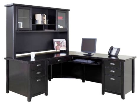 industrial desk with hutch best l shaped desk image of best l shaped desk with hutch