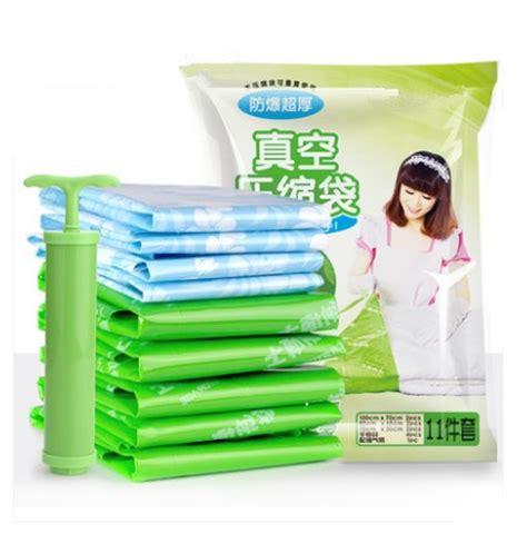 Vacum Storage Bag Free Pompa vacuum bag vacuum clothes storage bag quilt compression bag storage space bag moisture
