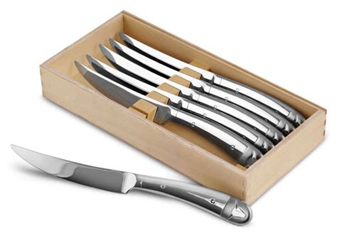 Wmf Kitchen Knives Wmf Stainless Steel Steak Knife Set 6 Cutlery And