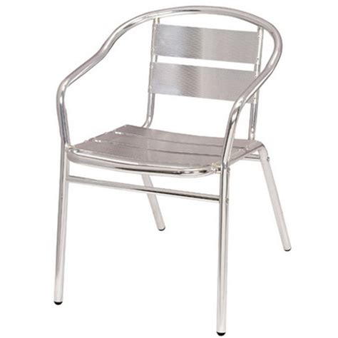 Aluminum Chair by Aluminum Arm Chair