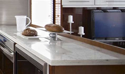 Just Countertops - zodiaq bianco carrara quartz countertop looks just like
