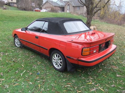 Toyota 2 Door Cars by Toyota Celica Convertible 1989 For Sale