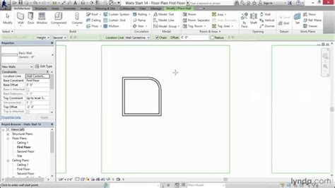 revit tutorial for interior design revit interior design tutorial drawing an interior wall