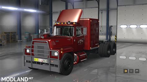 mack rs  rs  rubber duck version  mod  american truck simulator ats