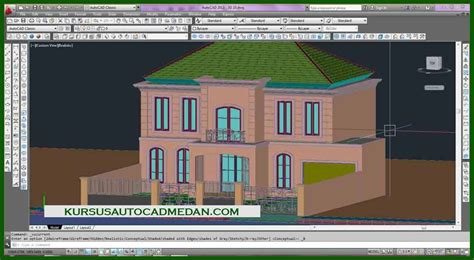 desain rumah autocad gambar autocad 3d desain rumah 10 kursus autocad medan