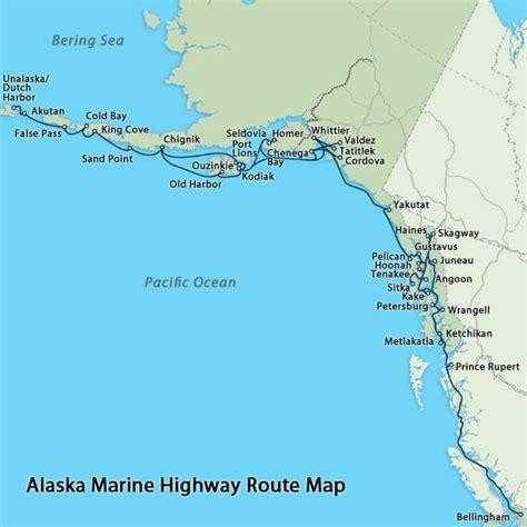 seattle to juneau map travel alaska getting to alaska by sea