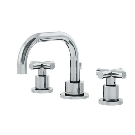 Symmons Plumbing by Symmons Dia 8 In Widespread 2 Handle Low Arc Bathroom
