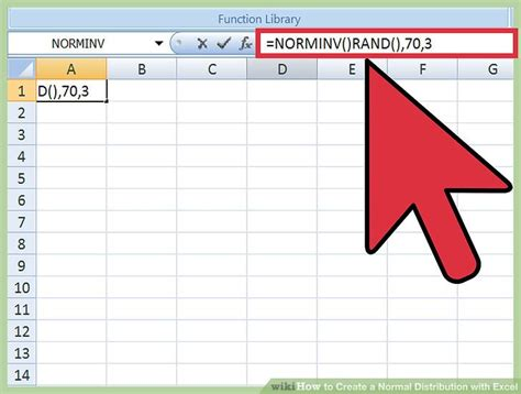 excel tutorial normal distribution how to create a normal distribution with excel 8 steps