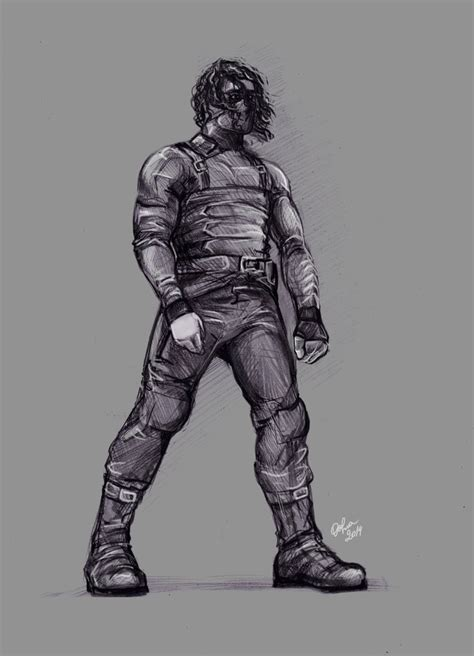 E Barnes Artist The Winter Soldier By Dafnawinchester On Deviantart