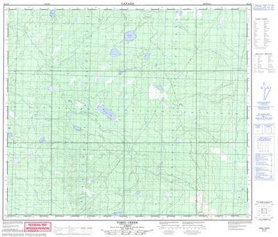 083j10 timeu creek topographic map