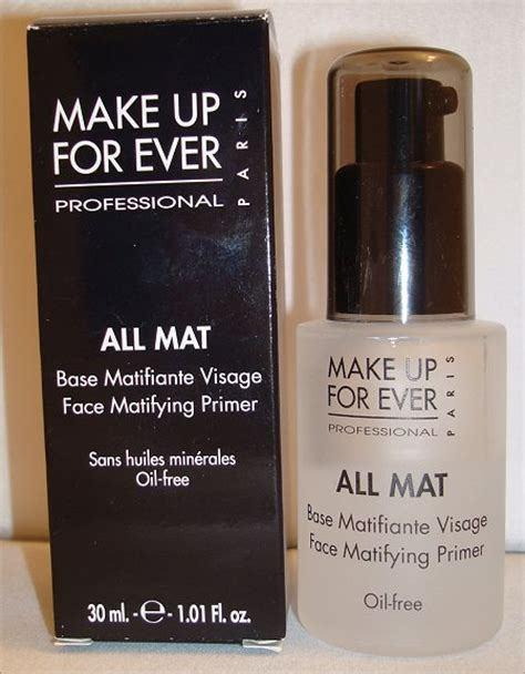 Makeup Forever Primer make up for all mat matifying primer review