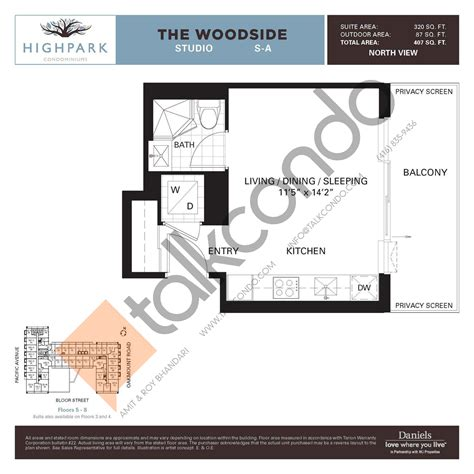 daniels high park floor plans daniels high park floor plans thefloors co
