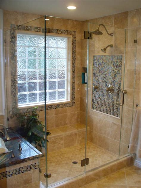 glass block bathroom shower ideas glass block window shower design pictures remodel decor