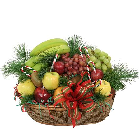 assorted christmas fruit basket 183 christmas fruit