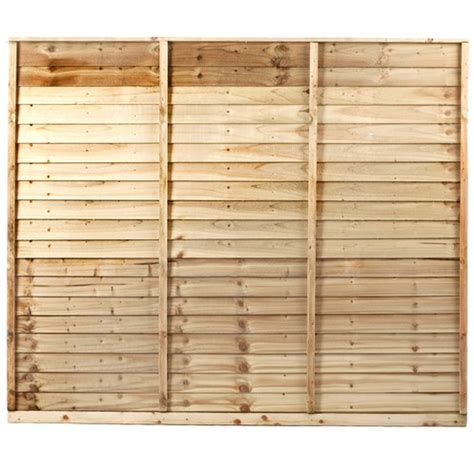 Shiplap Fence by Independent Fencing Shiplap Pressure Treated Fence Panel