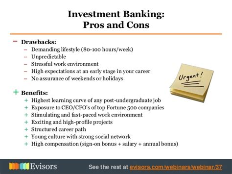 Careers In Investment Banking From Mba by Getting A In Investment Banking