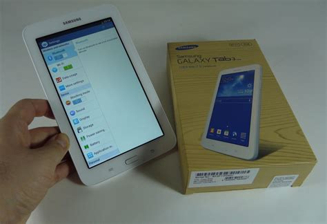 Tablet Samsung Tab 3 Lite samsung galaxy tab 3 lite unboxing most affordable