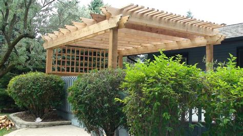 how to build a freestanding pergola amazing free standing pergola on deck garden landscape