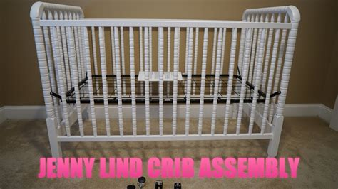 Davinci Jenny Lind 3 In 1 Convertible Crib Assembly Video Mattress Support For Crib