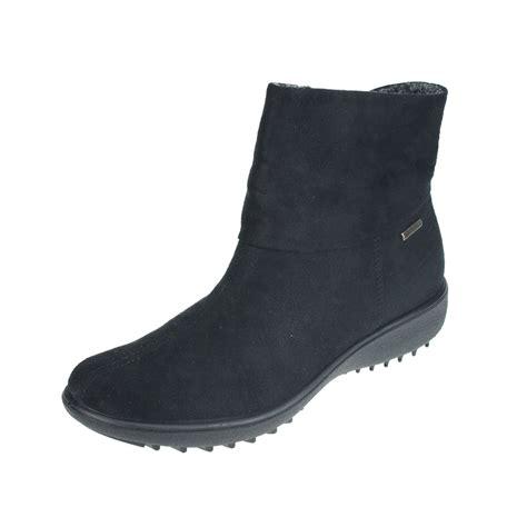 romika nadja 101 womens black waterproof ankle boot ebay