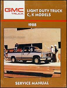 1988 chevrolet k1500 repair manual autos post