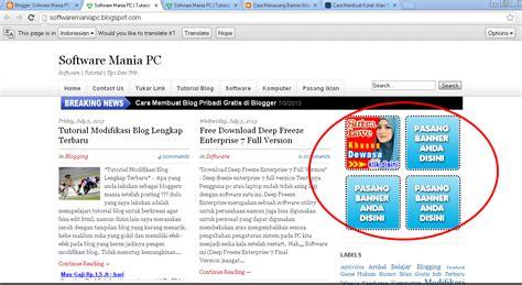 cara membuat blog gratis untuk iklan cara membuat kotak iklan di blog free download all