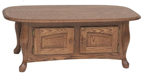 solid oak coffee table w storage 43 the