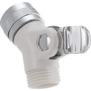 delta plastic white pin mount swivel connector az