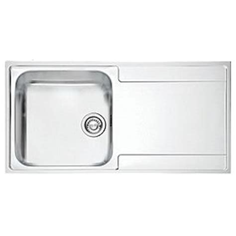 screwfix kitchen sinks franke inset kitchen sink 1 2mm stainless steel 1 bowl