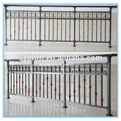 Pressure Treated Handrail Balcony Grill Design Outdoor Wrought Iron Railings House