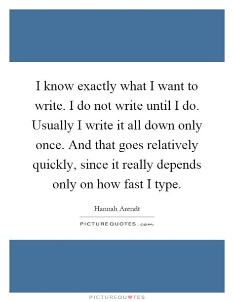 Quot I Only Need To How To Write An Essay Introduction Quot i exactly what i want to write i do not write until i do picture quotes